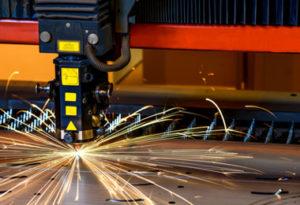 Laser Cutting Machine by the Warren Company
